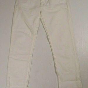 Big Star Women Sz 27 Remy Low Rise Fit White Jeans